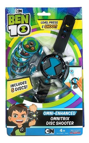 Omnitrix Lanzador De Discos Ben 10 Azul