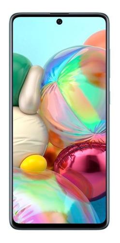 Celular Samsung Galaxy A71 128gb 64mp 6,7 6gb Octa Azul