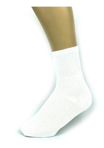 Meia Para Silk E Sublimação - Colegial 30 Pares - Branco