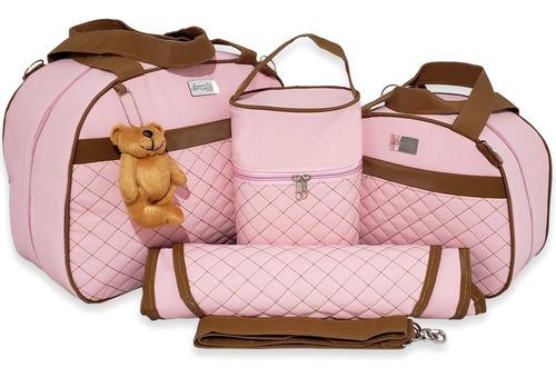 Bolsa Maternidade Kit Completo Menina Menino Impermeável