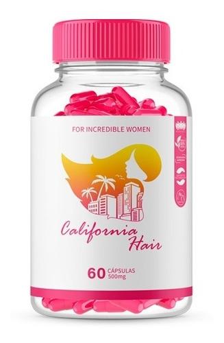 California Hair - 1 Pote C/ 60 Caps