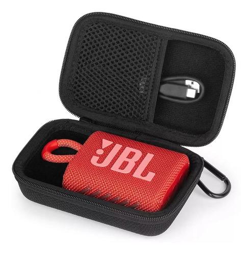 Case Bag Bolsa Capa Protetora Para Caixa De Som Jbl Go3