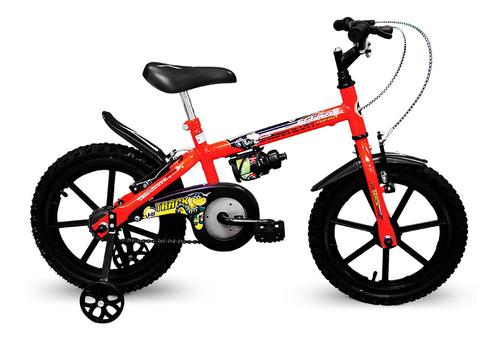 Bicicleta Track Dino Neon Infantil Aro 16