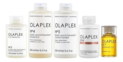 Olaplex N° 3 + N° 4 + N° 5 + N°6 + N° 7 Tratamiento Completo