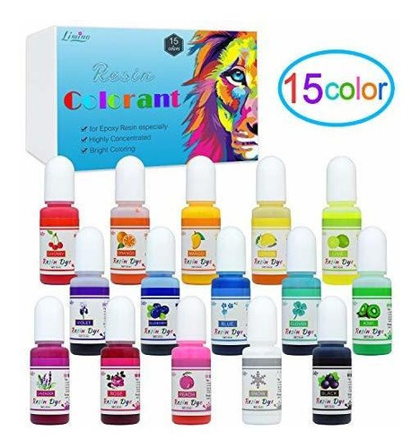 Pigmento De Resina Epoxi - Colorante Liquido De Resina Epox