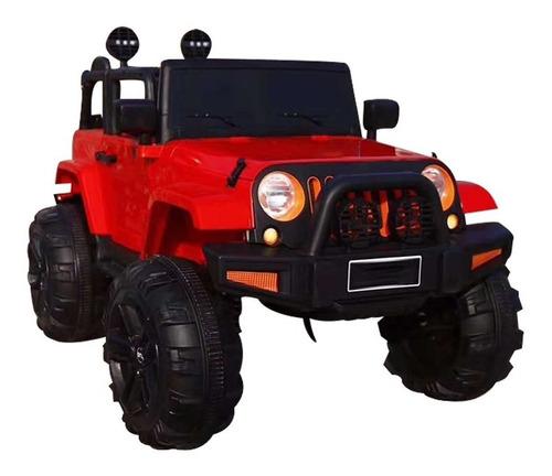 Carrinho Elétrico Infantil Jeep Com Pedal Música Luzes  12v