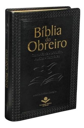 Bíblia Do Obreiro Linguagem Corrigida Capa Preta