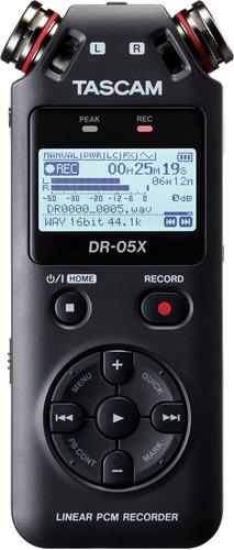 Gravador De Áudio Portátil Tascam Dr-05x - Novo