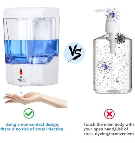 Dispensador Antibacterial/jabón Automático