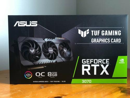 Asus Tuf Gaming Geforce Rtx 3070 Oc 8gb Gddr6x