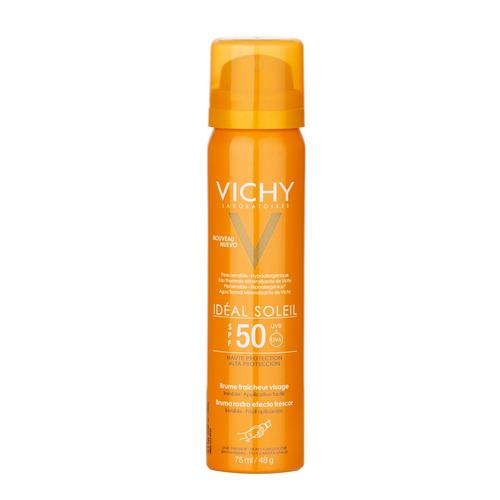 Protector Solar Vichy Idéal Soleil Bruma De Rostro Invisible Spray Fps50 X 75ml