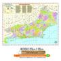 Mapa Do Estado Rio De Janeiro 90 X 120 Cm Enrolado Atual
