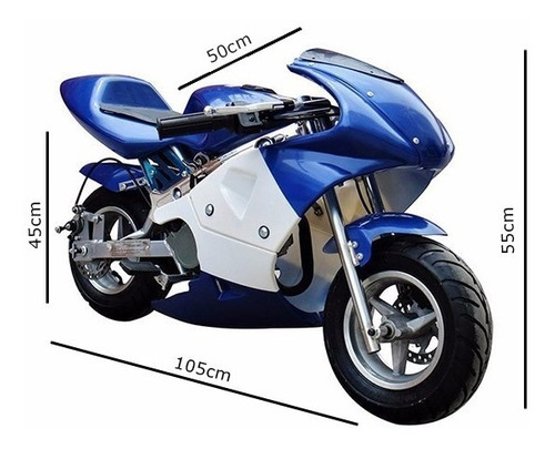 Mini Moto Gp Ninja 49cc 0km C/ Nota Fiscal + Dsr