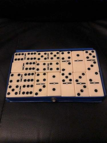 Juego Domino Antiguo Double Six Dominoes 28 Piezas