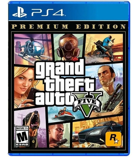 Gta V Ps4 Grand Theft Auto 5  Premium Edition Juego Fisico