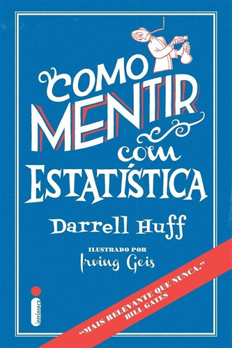 Como Mentir Com Estatística Livro Darrell Huff Frete 12 Reai