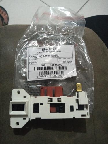 Dispositivo Da Trava Da Tampa Máquina De Lavar Eletrolux 15