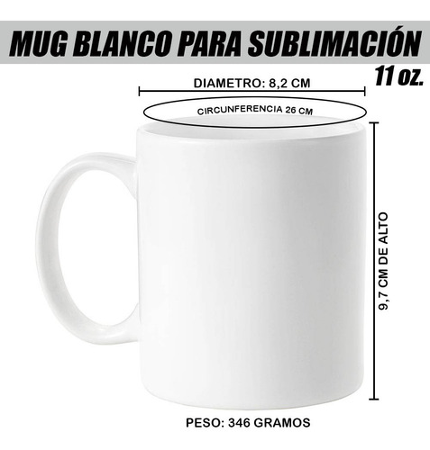 18 Mugs Blancos Mas 18 Mugs Color Interno Y Oreja
