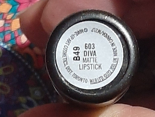 Mac Labial Color Diva Matte