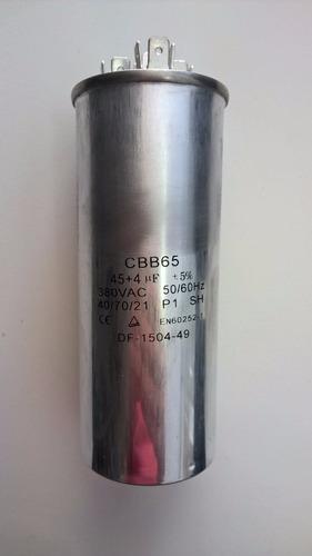Capacitor Duplo 45 + 4uf ±5% 380vac Original
