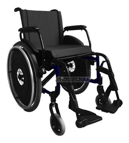 Cadeira De Rodas Avd Com Assento Duplo Almofadado Ortobras