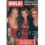 Revista Hola 265: Thalia & Irmãs / Bündchen / Enrique Ponce