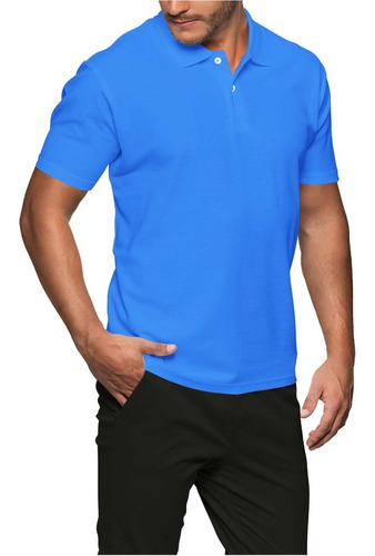 Camisa Gola Polo Lisa Masculina Manga Curta Atacado E Varejo