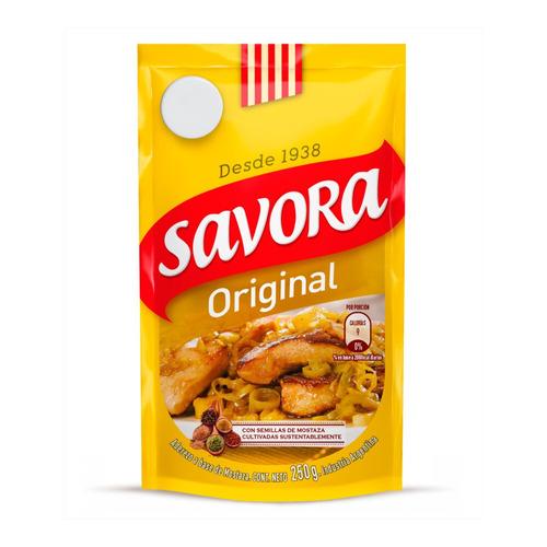 Mostaza Savora Original En Doy Pack 250g