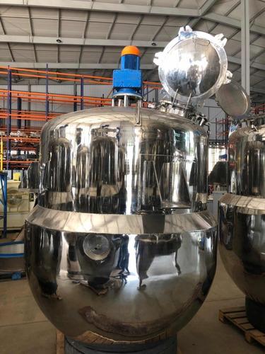 Reator De Aço Inox 316l 2500 Litros Encamisado