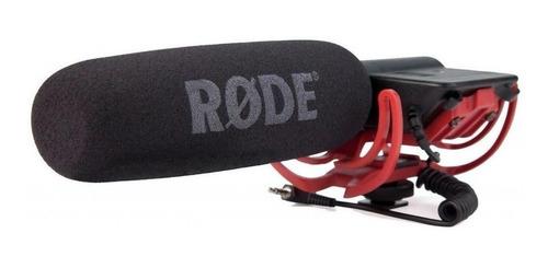 Micrófono Rode Videomic Condensador Supercardioide Negro