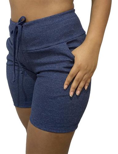 Shorts Feminino Atacado Bermudas Femininas Tipo Moletom Top