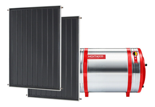Aquecedor Solar Komeco 300l Inox 316 + 2 Coletores