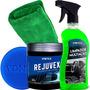 Revitalizador Parachoque Plástico Rejuvex Limpador Multiação