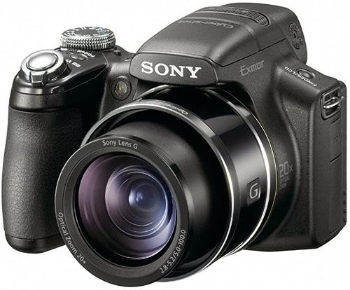 Baixou! Camera Sony Cybershot Dsc hx1 9.1mp C/ Zoom Opt 20x
