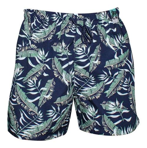 Shorts Masculino Plus Size De Praia Extra Grande G1 Ao G3
