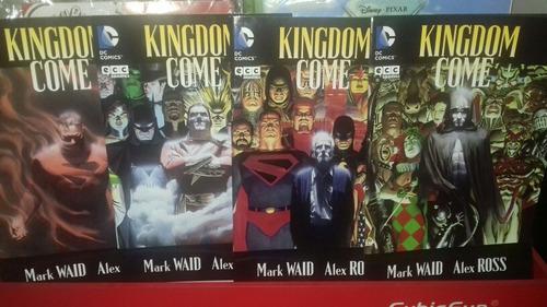 Kingdom Come. Ecc. X4 Tomos