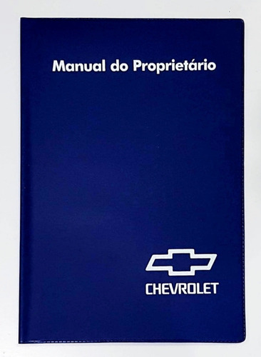 Capa Porta Manual Proprietário Chevrolet Gm Pvc