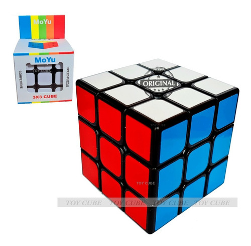 Cubo Mágico Mf3 Moyu Profissional Original-grátis 1 Base
