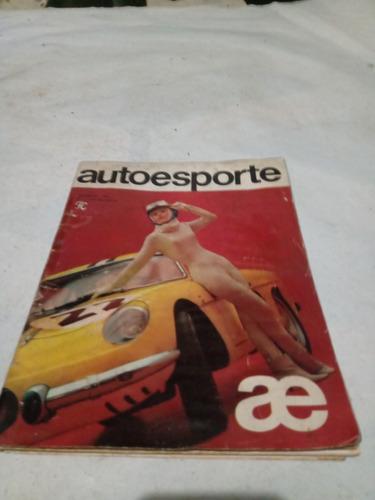Auto Esporte N1 Revista Automotiva Novembro 1964