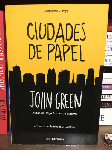 Ciudades De Papel Libro - John Green.