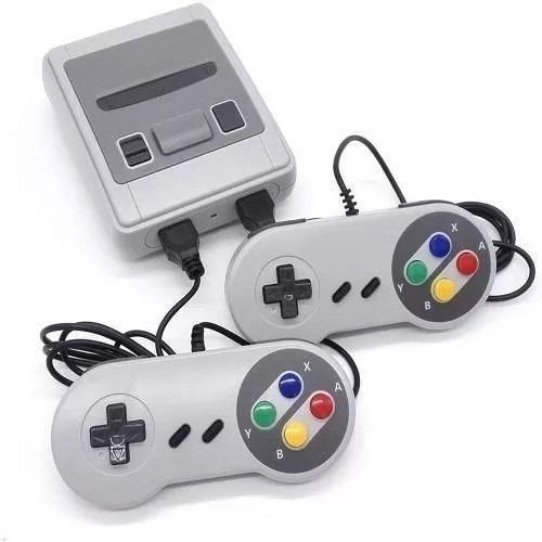 Mini Vídeo Game 600 Jogos Retrô 2 Controles Jogos Clássicos