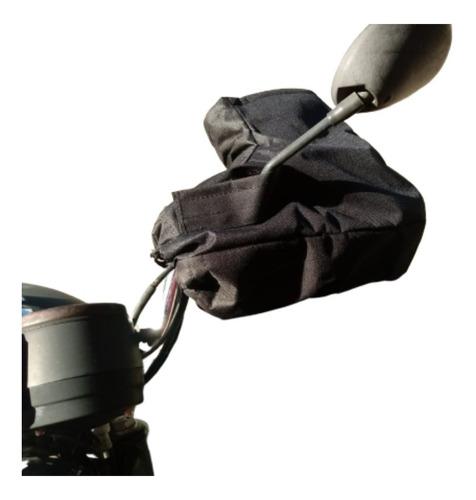 Luva Protetor De Mão Polaina De Guidão De Moto Chuva Frio