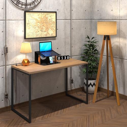 Mesa P/ Escritório Diretor Estilo Industrial 120x60 Vintage