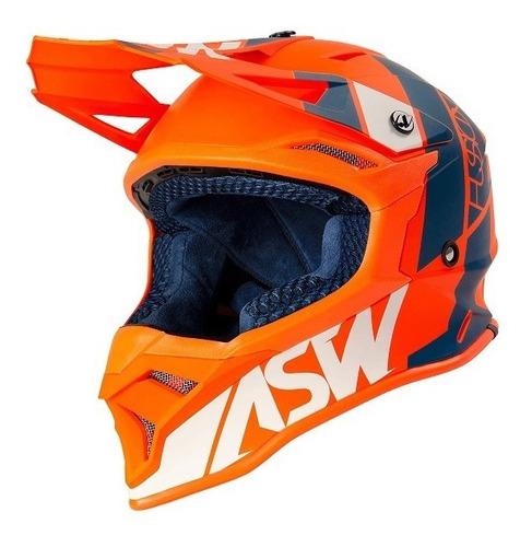 Capacete Asw Fusion 2.0 Seecker Motocross Trilha Enduro