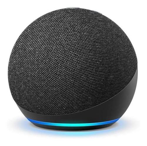Smart Speaker Amazon Alexa Echo Dot 4 Geração Azul