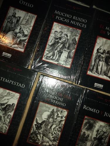 Lote X 16 Libros William Shakespeare Aguilar Tapa Dura