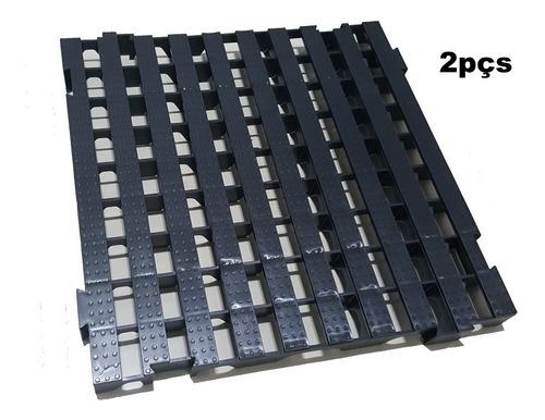 2pcs Pallet Palete Estrado Plástico 50x50 Cm Qualidade