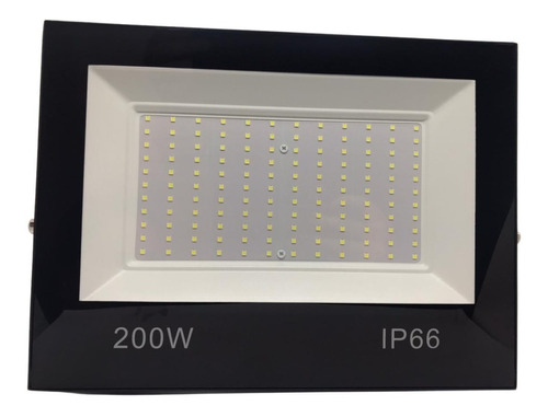 Refletor Led 200w Holofote Bivolt Branco Frio Prova D Agua