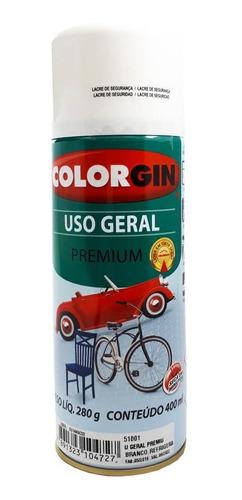 Tinta Spray Colorgin Uso Geral P/ Automotivo Metais Madeira