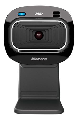 Webcam Microfone Integrado Microsoft Lifecam Hd-3000 Zoom 4x